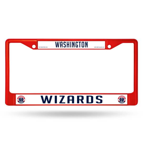 Rico Washington Wizards Colored Chrome License Plate Frame product image