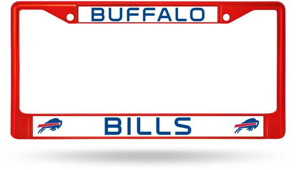 Rico Buffalo Bills Colored Chrome License Plate Frame product image