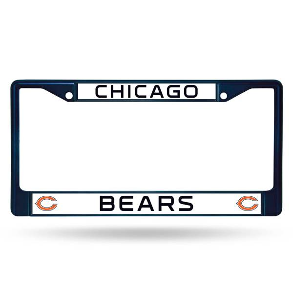 Rico Chicago Bears Chrome License Plate Frame product image