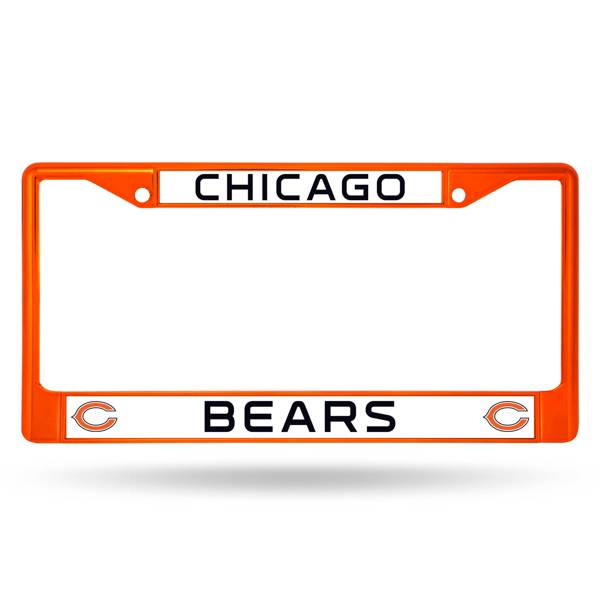 Rico Chicago Bears Colored Chrome License Plate Frame product image