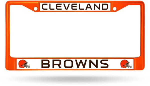 Rico Cleveland Browns Chrome License Plate Frame product image