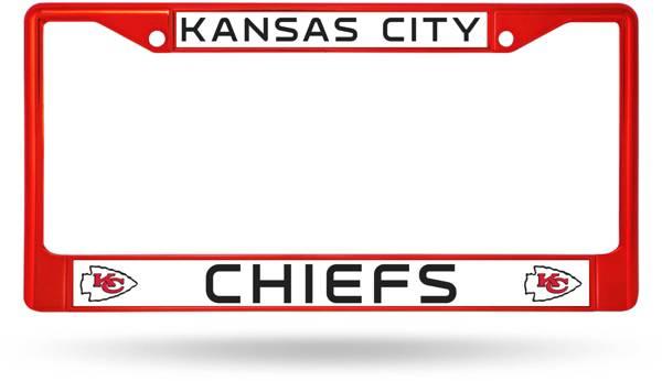 Rico Kansas City Chiefs Chrome License Plate Frame product image