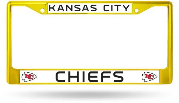 Rico Kansas City Chiefs Colored Chrome License Plate Frame product image