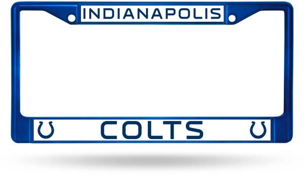 Rico Indianapolis Colts Chrome License Plate Frame product image