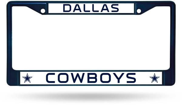 Rico Dallas Cowboys Chrome License Plate Frame product image