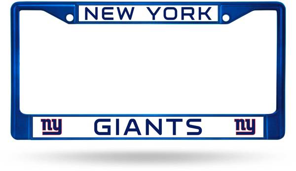 Rico New York Giants Chrome License Plate Frame product image