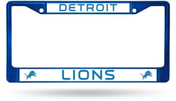 Rico Detroit Lions Chrome License Plate Frame product image