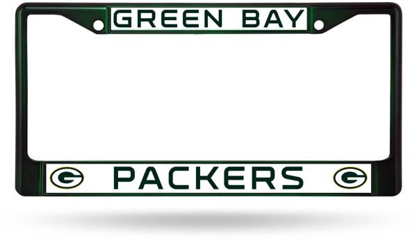 Rico Green Bay Packers Chrome License Plate Frame product image