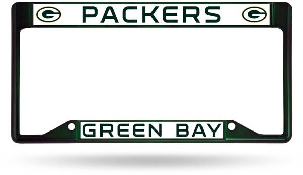 Rico Green Bay Packers Colored Chrome License Plate Frame product image