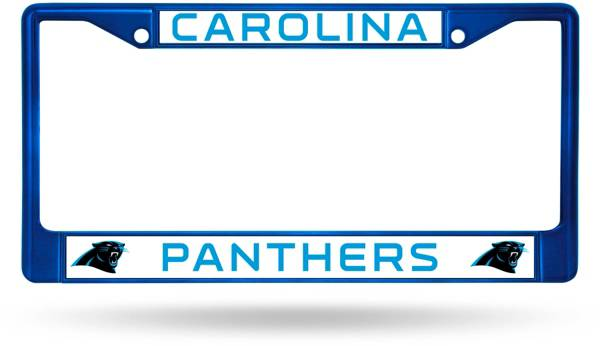Rico Carolina Panthers Chrome License Plate Frame product image