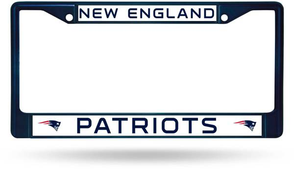 Rico New England Patriots Chrome License Plate Frame product image