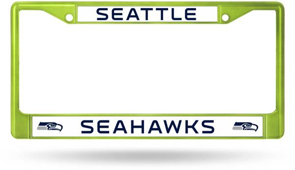 Rico Seattle Seahawks Chrome License Plate Frame product image
