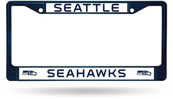 Rico Seattle Seahawks Colored Chrome License Plate Frame product image