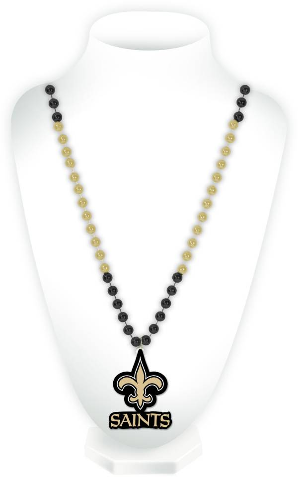 Rico New Orleans Saints Beaded Logo Necklace product image