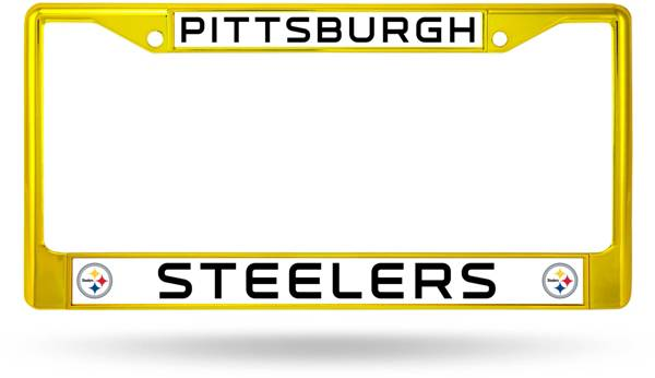 Rico Pittsburgh Steelers Chrome License Plate Frame product image