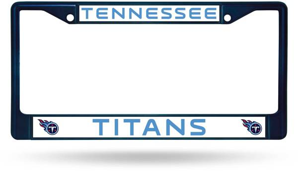 Rico Tennessee Titans Chrome License Plate Frame product image