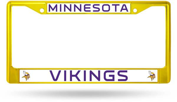 Rico Minnesota Vikings Colored Chrome License Plate Frame product image