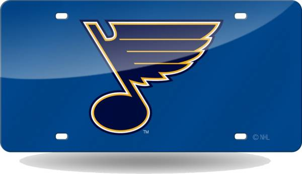 Rico St. Louis Blues Laser Tag License Plate product image