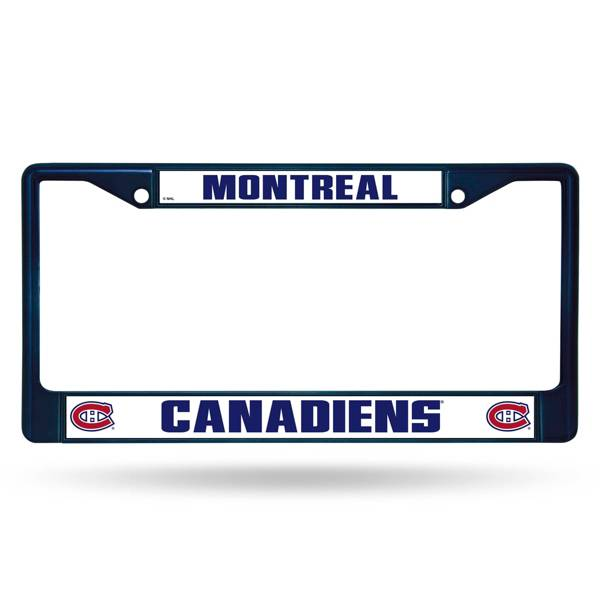 Rico Montreal Canadiens Chrome License Plate Frame product image