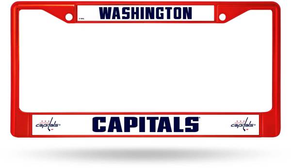 Rico Washington Capitals Colored Chrome License Plate Frame product image