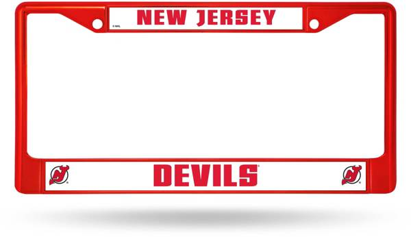 Rico New Jersey Devils Chrome License Plate Frame product image