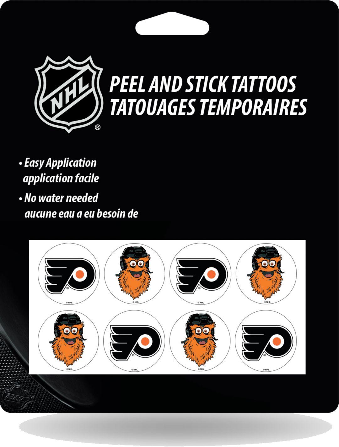 23e968ca Rico Philadelphia Flyers Gritty Tattoo Stickers