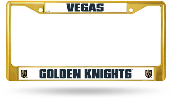 Rico Vegas Golden Knights Colored Chrome License Plate Frame product image