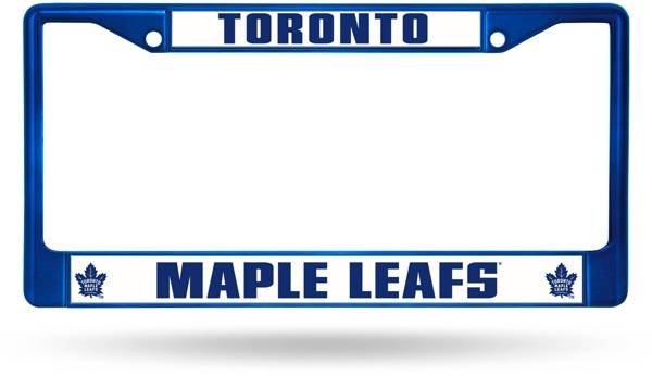 Rico Toronto Maple Leafs Chrome License Plate Frame product image