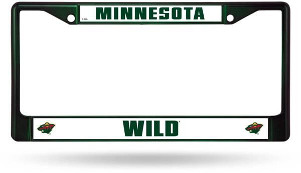 Rico Minnesota Wild Chrome License Plate Frame product image