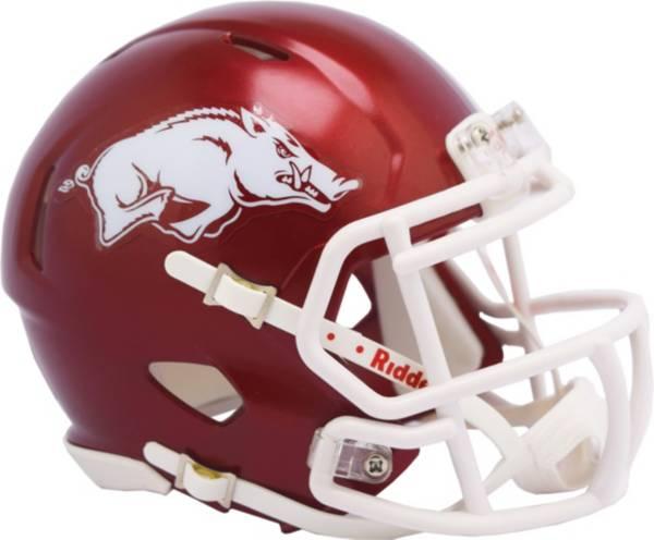Riddell Arkansas Razorbacks Speed Mini Helmet product image