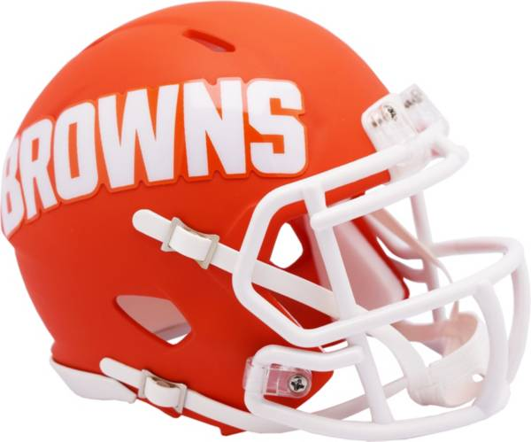 Riddell Cleveland Browns AMP Speed Mini Football Helmet product image
