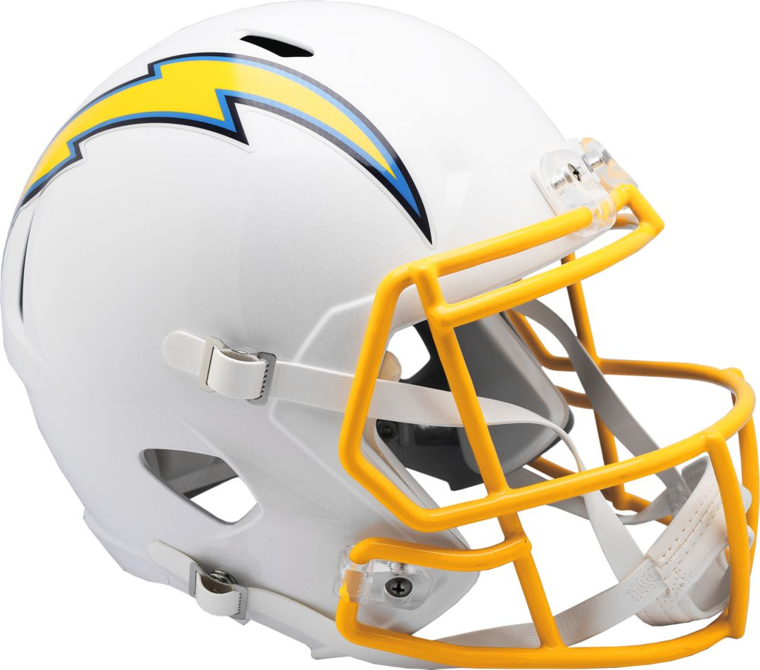 64bb44e6 Riddell Los Angeles Chargers Speed Replica Football Helmet