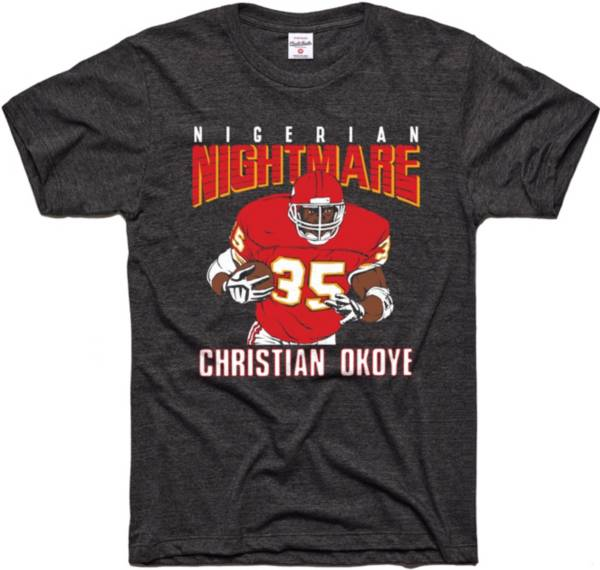 Charlie Hustle Men's Nightmare Okoye Vintage Black T-Shirt product image