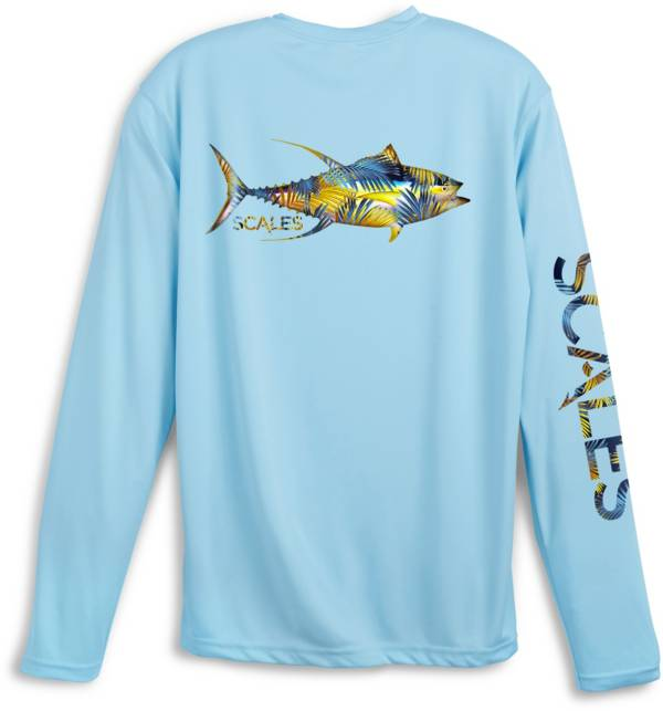 Scales Gear Men's Tropical Tuna Performance Long Sleeve Shirt product image