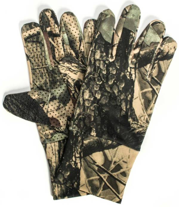 QuietWear Men's Camo Spandex Gloves product image