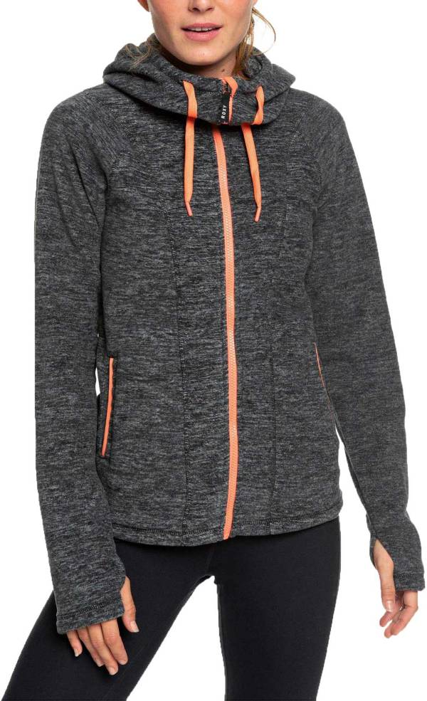 Roxy Women's Electric Feeling Hooded Zip-Up Fleece Jacket product image