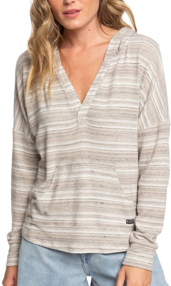 Roxy Women's Sweet Thing Heather Striped Pullover product image