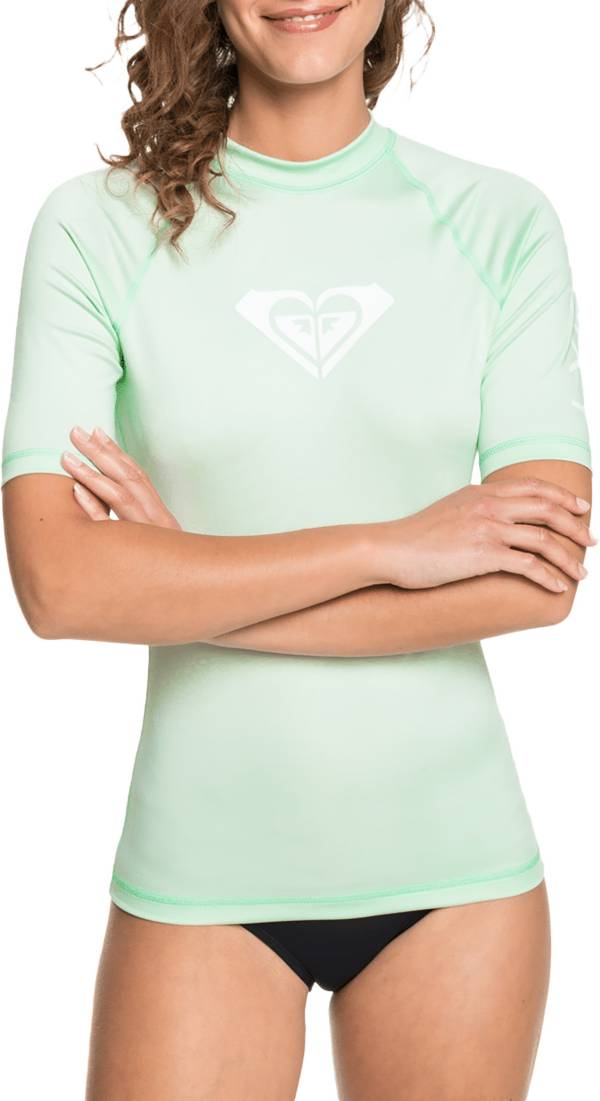 Roxy Women's Whole Hearted Short Sleeve Rash Guard product image
