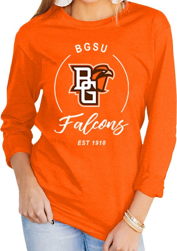 Gameday Couture Women's Bowling Green Falcons Orange Varsity Long Sleeve T-Shirt product image