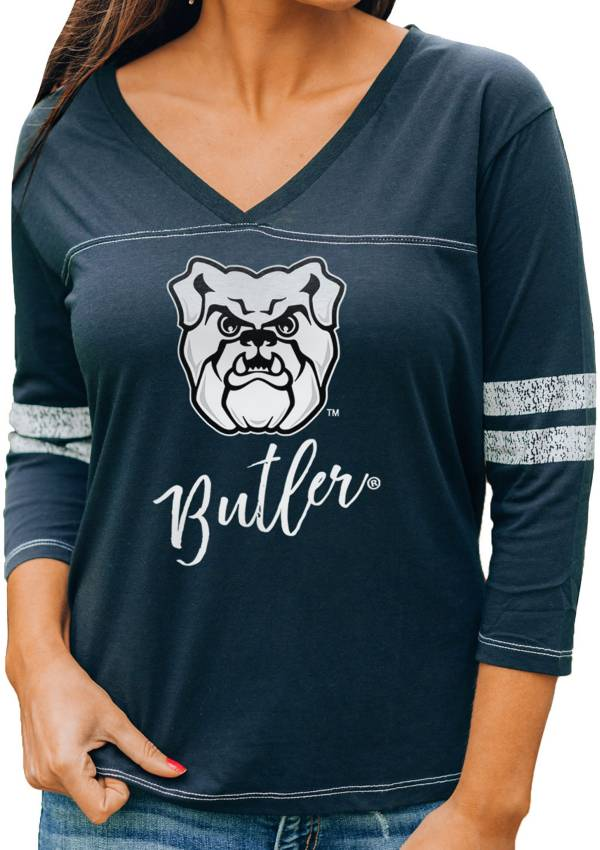 Gameday Couture Women's Butler Bulldogs Blue ¾ Sleeve Sport T-Shirt product image