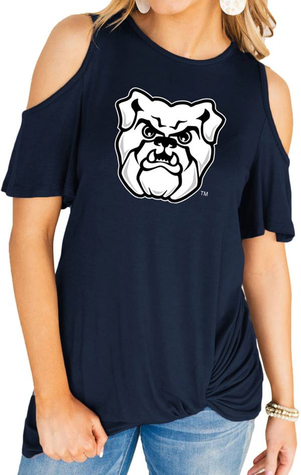 Gameday Couture Women's Butler Bulldogs Blue Alma Mater Cold Shoulder T-Shirt product image