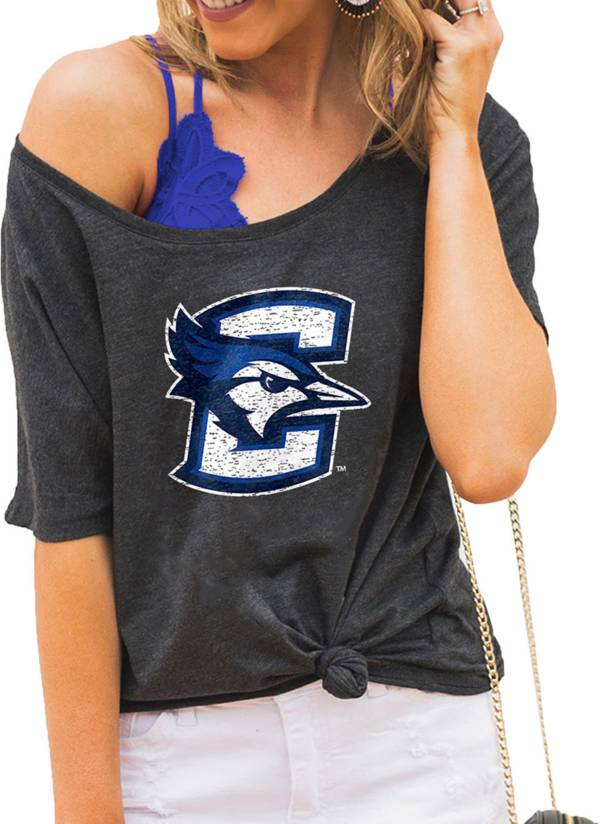 Gameday Couture Women's Creighton Bluejays Grey Vibing Boyfriend T-Shirt product image