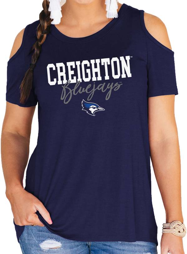 Gameday Couture Women's Creighton Bluejays Blue Cold Shoulder T-Shirt product image