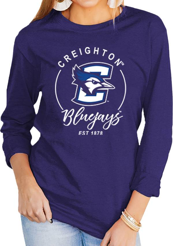 Gameday Couture Women's Creighton Bluejays Blue Varsity Long Sleeve T-Shirt product image
