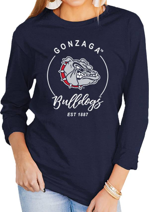 Gameday Couture Women's Gonzaga Bulldogs Blue Varsity Long Sleeve T-Shirt product image