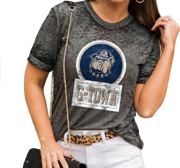 Gameday Couture Women's Georgetown Hoyas Grey Boyfriend T-Shirt product image