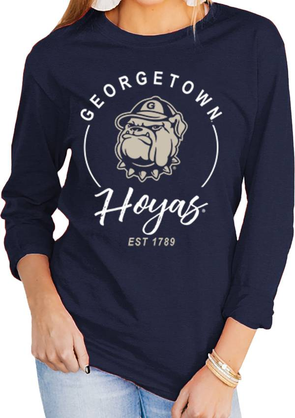 Gameday Couture Women's Georgetown Hoyas Blue Varsity Long Sleeve T-Shirt product image