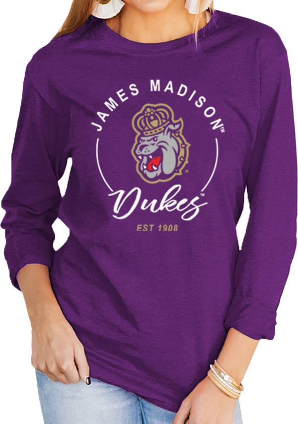 Gameday Couture Women's James Madison Dukes Purple Varsity Long Sleeve T-Shirt product image