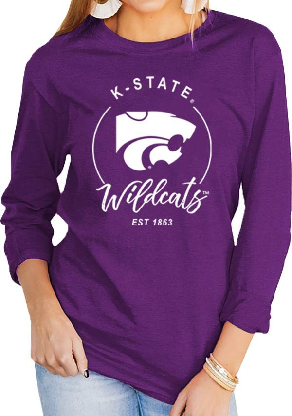 Gameday Couture Women's Kansas State Wildcats Purple Varsity Long Sleeve T-Shirt product image