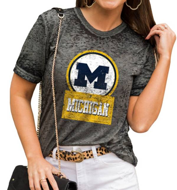 Gameday Couture Women's Michigan Wolverines Grey Boyfriend T-Shirt product image